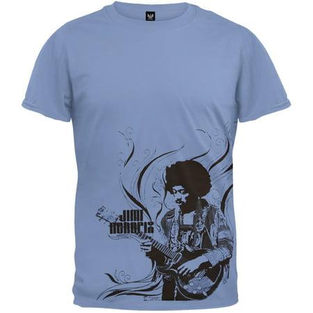 Jimi Hendrix Outfits (Jimi Hendrix - Flames T-Shirt)