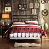 Weston Home Nottingham Metal Bed, Multiple Sizes and Colors