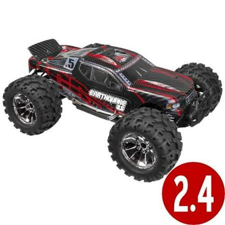 Nitro Truck Bodies - Earthquake 3.5 Scale Nitro Monster Truck - Red