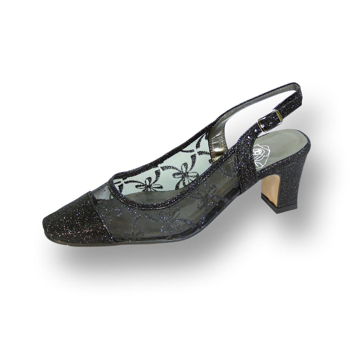 Bridal Shoes Wide Width: FLORAL Jenni Women's Wide Width Evening Dress