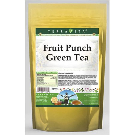 Fruit Punch Green Tea (25 tea bags, ZIN: - Halloween Punch Alcoholic Green