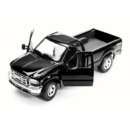 Ford Mighty F350 Super Duty Pick-up, Black - Maisto Special Edition 31937 - 1/27 Scale Diecast Model Toy