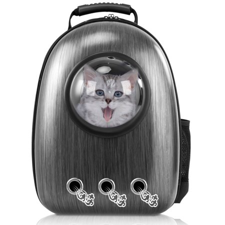 df9ff8f3880 Costway Astronaut Pet Cat Dog Puppy Carrier Travel Bag Space Capsule  Backpack Breathable - Walmart.com