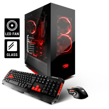 f03173eb55f iBUYPOWER Element WA905 Gaming Desktop PC with Liquid-Cooled Intel Kaby  Lake Core i5-