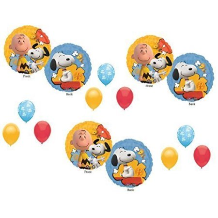 Peanuts Charlie Brown Balloons Decoration Supplies Party Snoopy - Charlie Brown Halloween Birthday Party