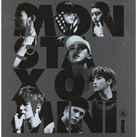 Rush (2nd Mini Album) Official Version (CD)