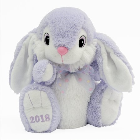 Easter collectible hoppy hopster bunny plush toy for 2018 gift easter collectible hoppy hopster bunny plush toy for 2018 gift purple negle Choice Image