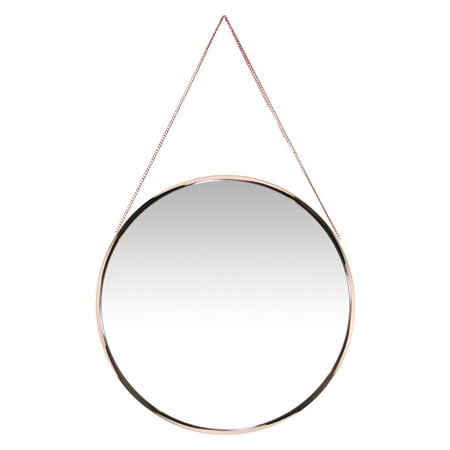 Infinity Instruments Franc Round Wall Mirror - 17.87W x 17.87H in. ()