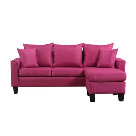 Awesome Best Choice Products Multifunctional Linen 3 Seat L Shape Sectional Sofa Couch W Reversible Chaise Ottoman Black Machost Co Dining Chair Design Ideas Machostcouk