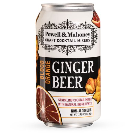 - Powell & Mahoney Blood Orange Ginger Beer - 12 oz Cans - 4-Pack