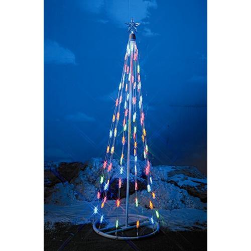Homebrite Solar String Light Cone Tree Christmas Decoration ...