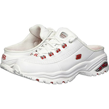 Skechers Sport Women's Premium Break Even Sneaker,WhiteRed,7.5 M US