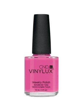 CND Vinylux Weekly Nail Polish, Hot Pop Pink, 0.5 Fl Oz