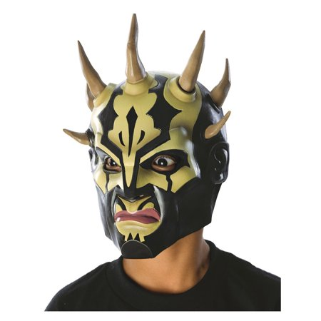 Child's Star Wars Savage Opress Mask Halloween Costume Accessory