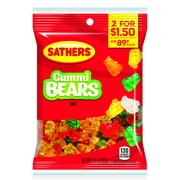 Sathers Gummy Bears Candy, 3.25 Oz