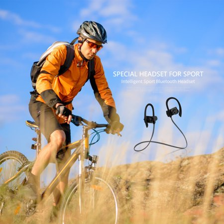 Headphones Wireless Waterproof Sport Headphone Headset with Mic - image 6 of 8