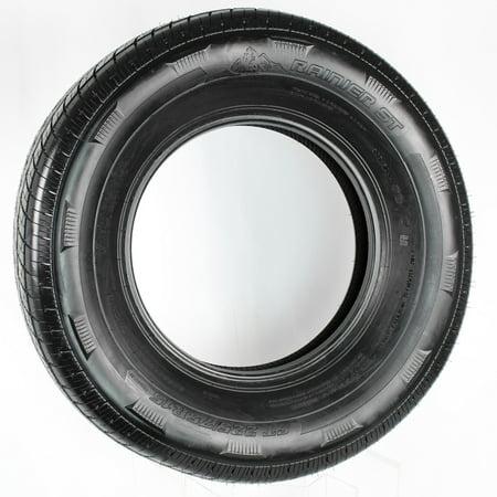 eCustomrim Radial Trailer Tire ST225/75R15 Load D 58031 2540 Lb. Capacity Trailer Load Capacity