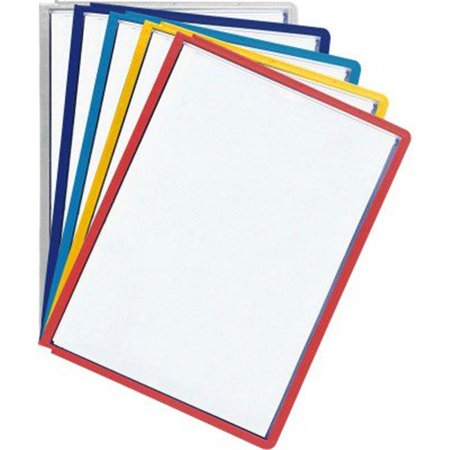 Sherpa 566600 Sherpa Display Presentation System Panels, Assorted Borders - 5 per Set