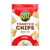 RITZ Original Toasted Chips, 8.1 oz