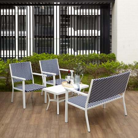 Now For The Peaktop 4 Piece, Peaktop 3 Piece Wicker Patio Set With Cushions