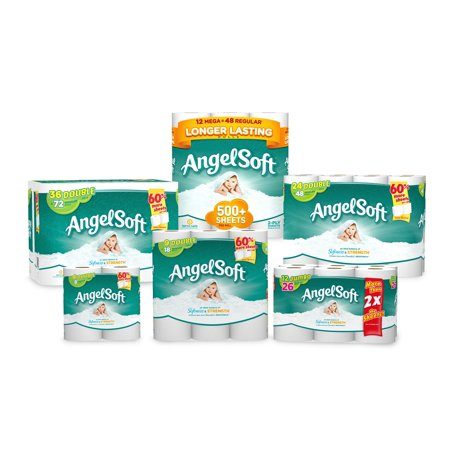 Angel Soft Toilet Paper  12 Jumbo Rolls  Bath Tissue. Angel Soft Toilet Paper  12 Jumbo Rolls  Bath Tissue   Walmart com