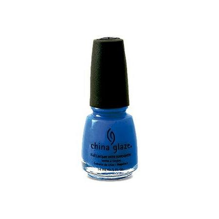 Gorgeous Blue Glaze (China Glaze Nail Polish, Blue Sparrow, 0.5)
