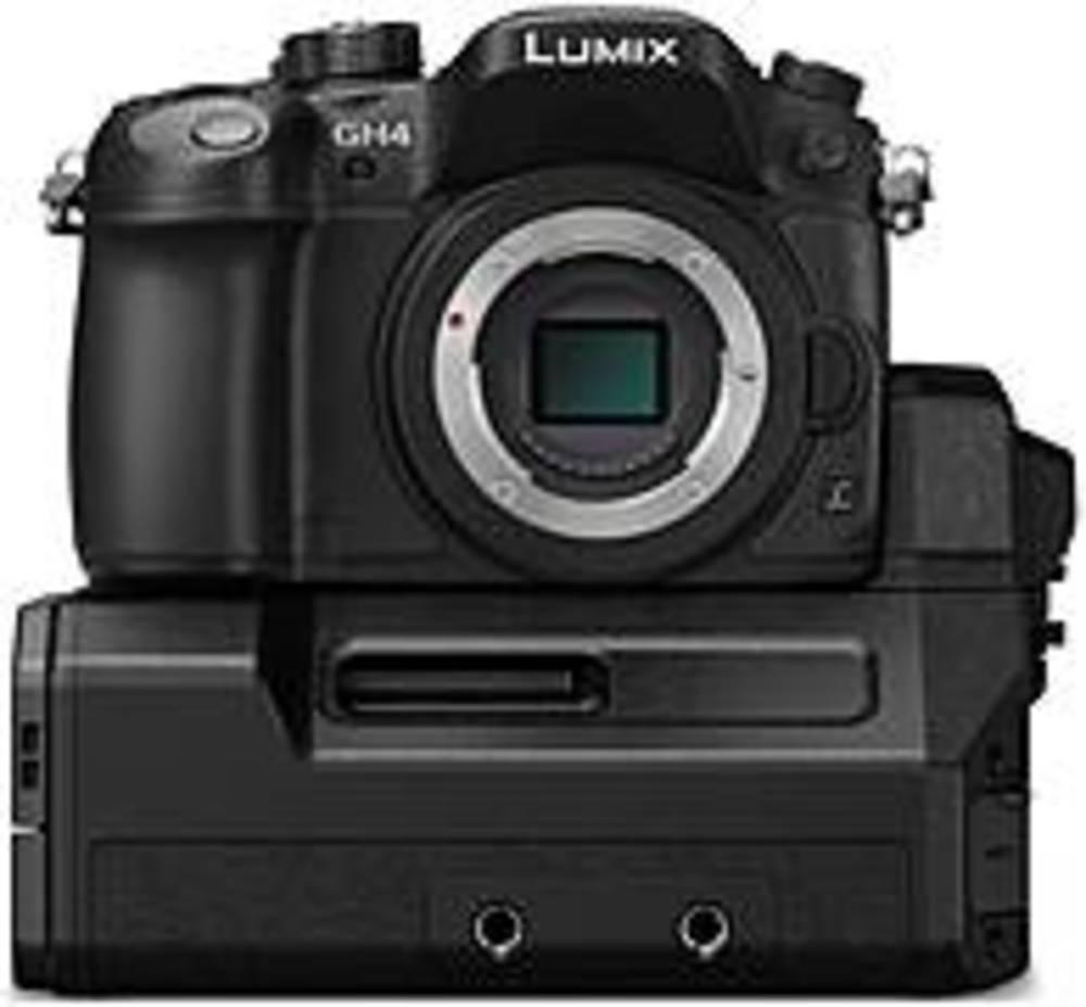Panasonic LUMIX DMC-GH4-YAGH 16.05 Megapixels GH4 Professional Digital SLR 4K Mirrorless Interchangeable Lens... by Panasonic