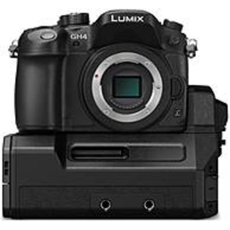 Panasonic LUMIX DMC-GH4-YAGH 16.05 Megapixels GH4 Professional Digital SLR 4K Mirrorless Interchangeable Lens Camera Kit with Cinematic YAGH Audio-Video Interface Unit - 2x, 4x Digital Zoom - 3-inch