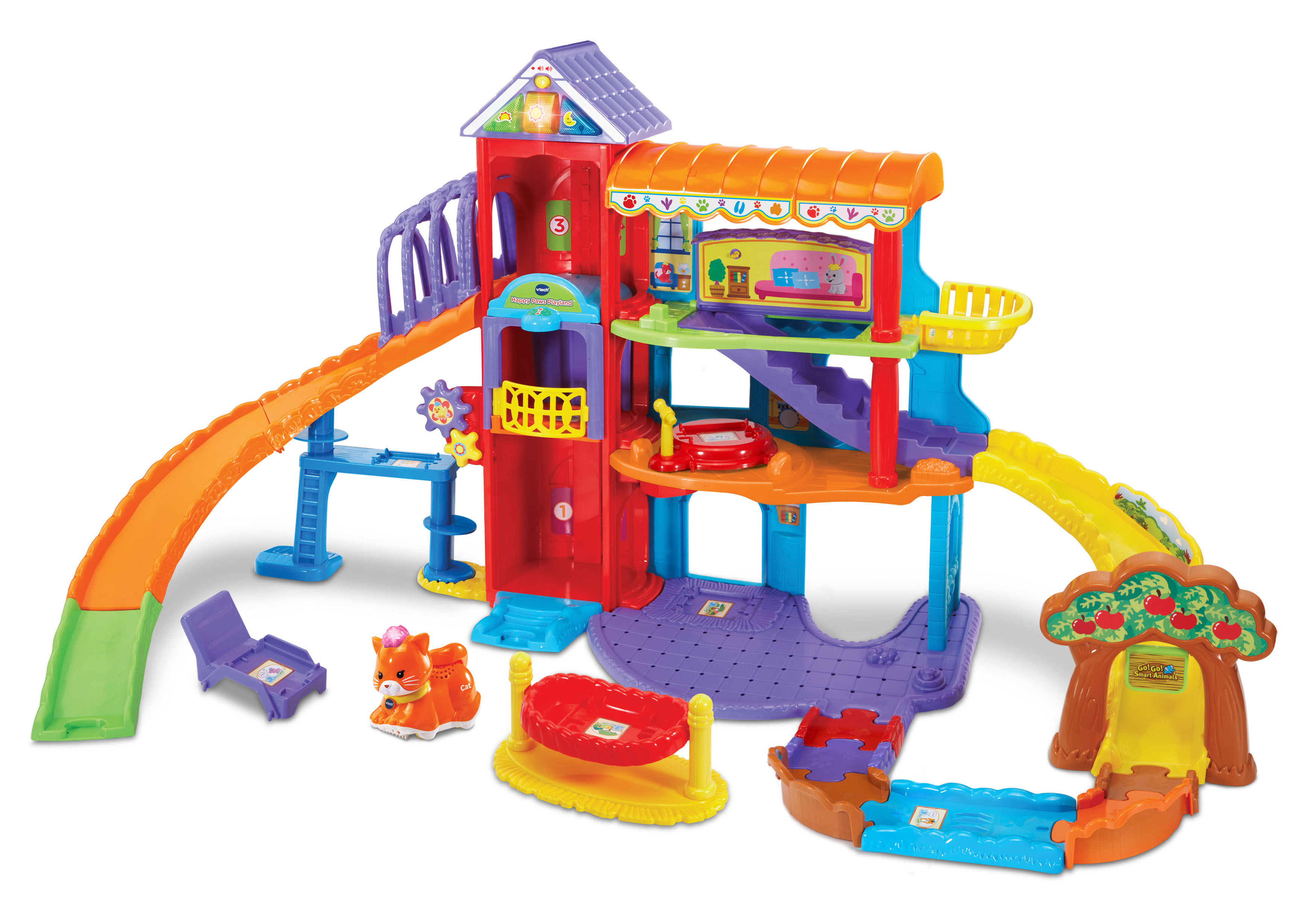 Go! Go! Smart Animals Happy Paws Playland by VTech