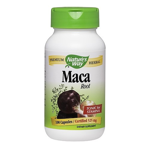 Nature's Way Maca Capsules, 525 Mg, 100 Ct