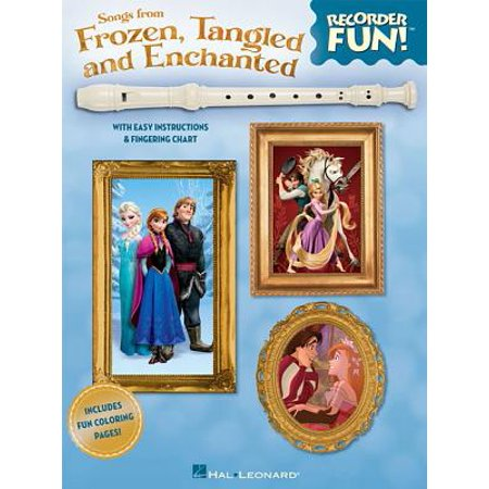 Songs from Frozen, Tangled and Enchanted - Recorder Fun! - Halloween Theme Song On Recorder