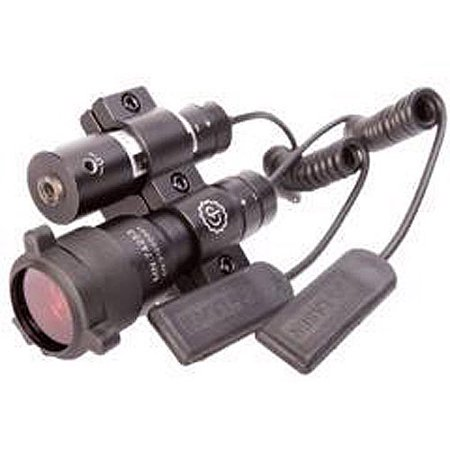 Centerpoint Firearm Quick Acquisition Led Flashlight And Red Laser Sight With Accessories