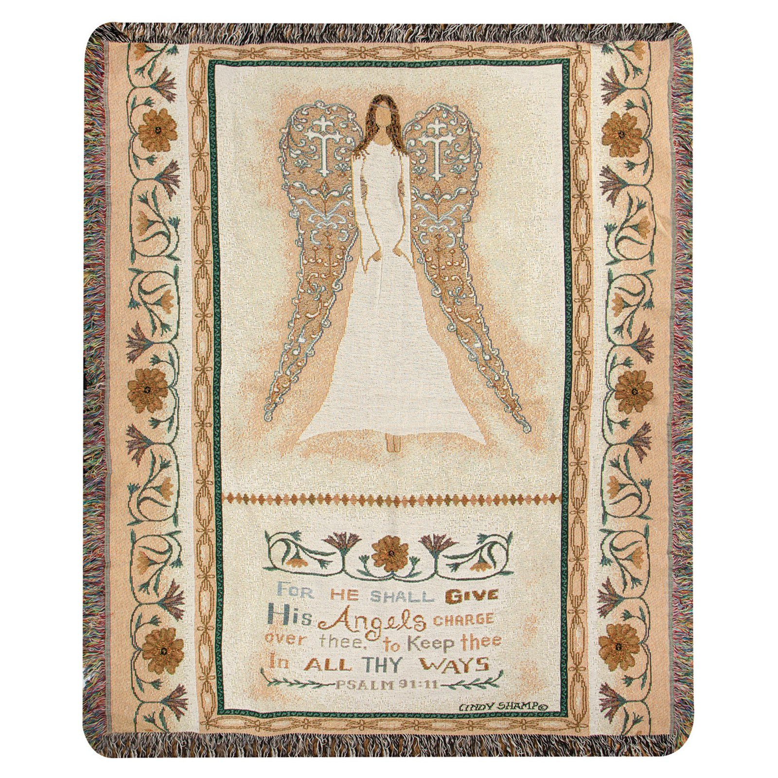 Manual In All Thy Ways Tapestry Throw