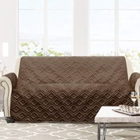 DriftAway Water-Resistant Quilted Furniture Protector Sofa Cover Slipcover for Dogs, Kids, Pets.