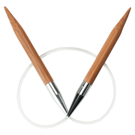 ChiaoGoo Bamboo Circular Knitting Needles: 40 Inch (100 cm) Cable: Size  US-0 (2 mm)