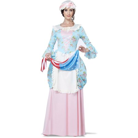 Colonial Halloween Costumes Adults (Colonial Betsy Ross Women's Adult Halloween)