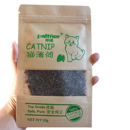 10g Organic Natural Catnip Cattle Grass Menthol Flavor Funny Cat Toys