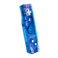 PDP Rock Candy Wii/Wii U Gesture Controller, Blueberry Boom, 8560B