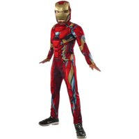 "Avengers ""Iron Man"" Child Muscle Chest Halloween Costume"