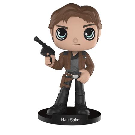 Best Funko Wobbler Star Wars Solo: Han Solo, Bobblehead Figure deal