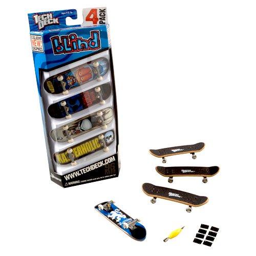 Tech Deck Skateboard 4 Pack Walmart Com Walmart Com