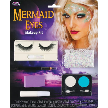 Mermaid Eye Make Up Kit - Cat Halloween Eye Makeup