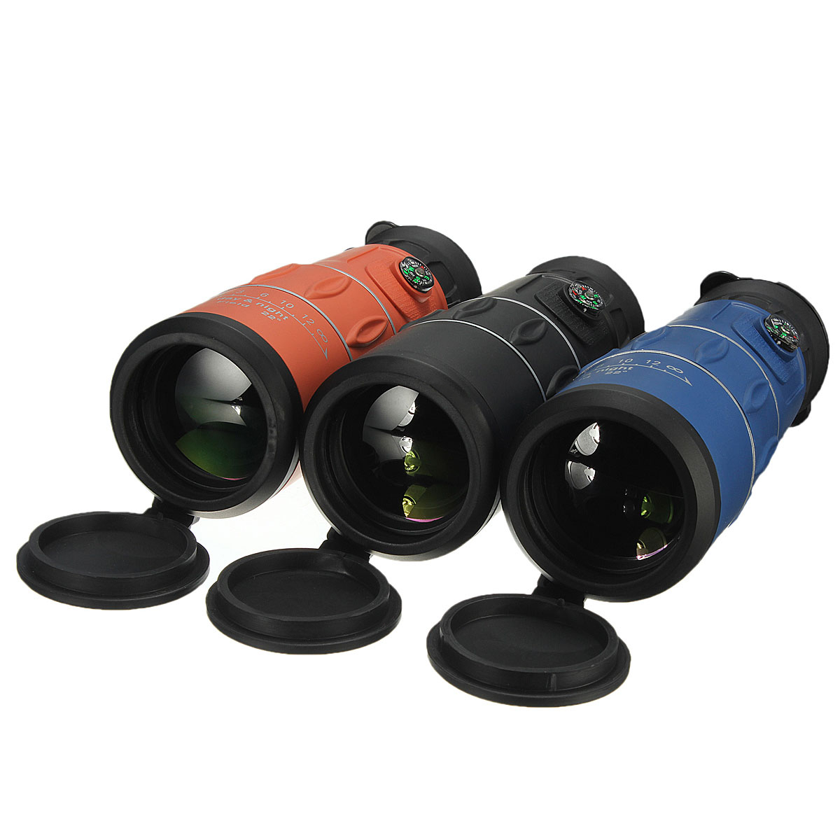HD Portable Monocular Telescope Night Vision Zoom Optical Telescope 26 x 52 For Hiking, Camping, Bird Watching, Concerts, Hunting, Outdoor