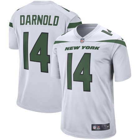 Sam Darnold New York Jets Nike Game Jersey - Spotlight White