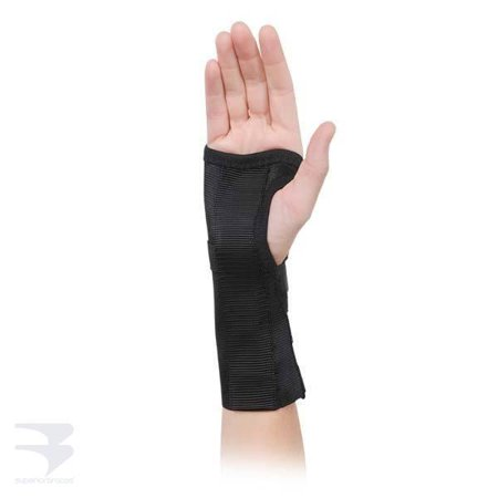 Image of Advanced Orthopaedics 111 - R Cock - Up Elastic Wrist Brace - Extra Small