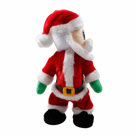 Merry Christmas! Christmas Party Decoration Electric Santa Claus Sing Dance Doll Gifts Plush Toy (Large Stuffed Santa Claus)