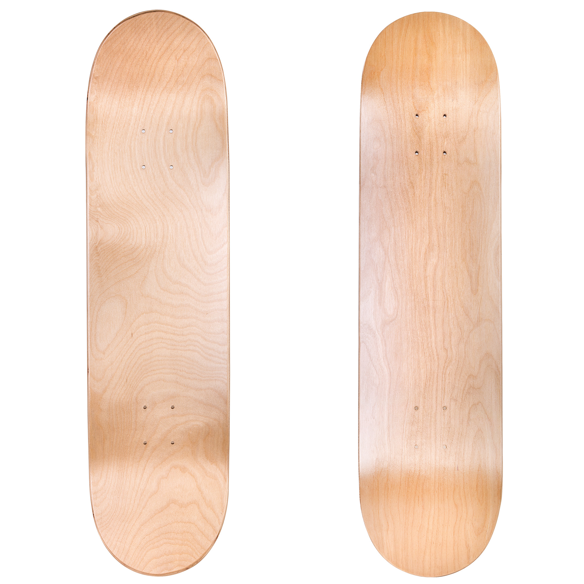 Set of 3 Cal 7 Blank Skateboard Decks