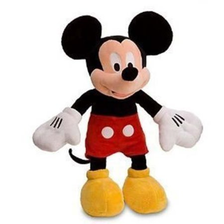 Pink And White Minnie Mouse (Disney Mickey Mouse Plush Toy -- 18'' by)