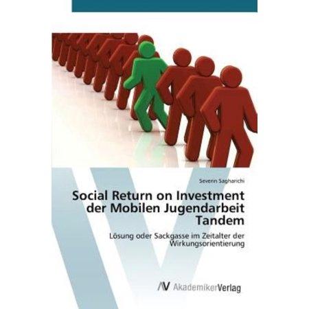 Social Return On Investment Der Mobilen Jugendarbeit Tandem