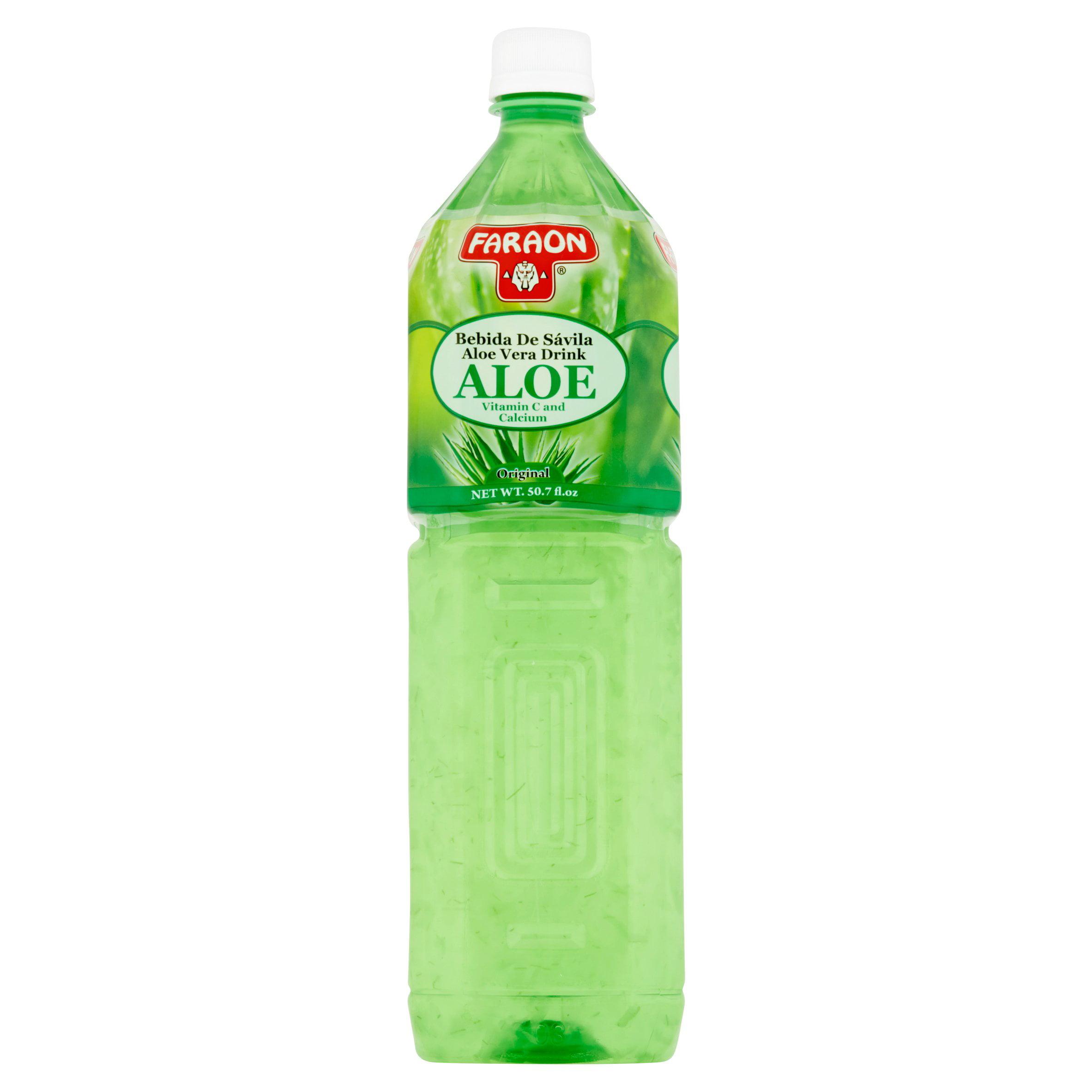 Faraon Original Aloe Vera Drink, 50.7 Fl Oz